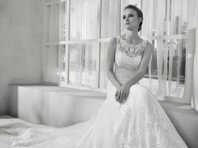 celli-spose-collezione-sposa-2019-divina-sposa-19108_5022 B&W