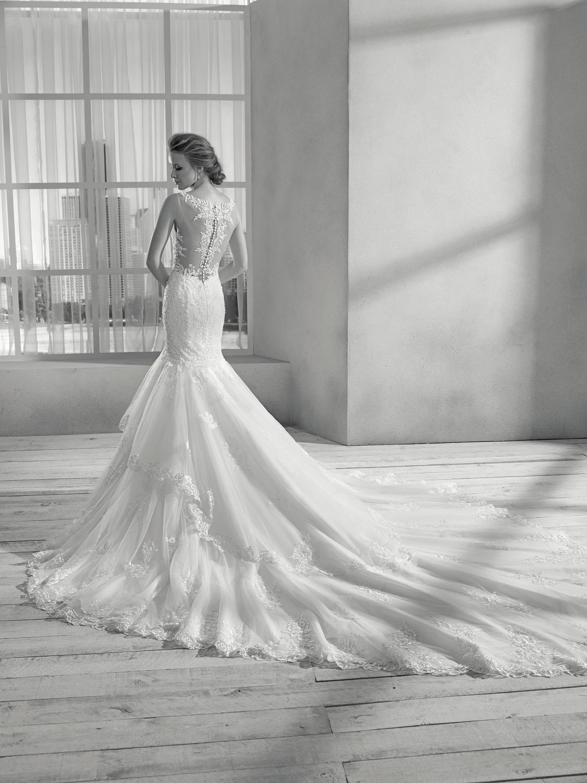 celli-spose-collezione-sposa-2019-divina-sposa-19117_2654 B&W